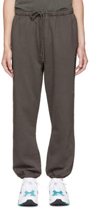 Second/Layer Grey Script Logo Lounge Pants