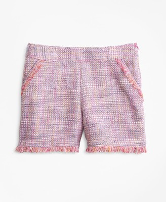 Brooks Brothers Girls Boucle Shorts