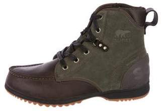 Sorel Leather & Suede Boots