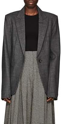 The Row Women's Naycene Wool-Blend One-Button Blazer