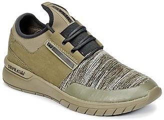 Supra FLOW RUN women's Shoes (Trainers) in Green