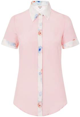 Sophie Cameron Davies - Pale Pink Classic Silk Shirt