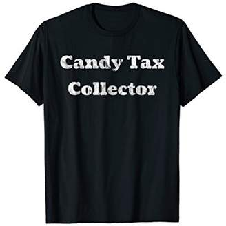 Funny Candy Tax Collector Trick Or Treat Easter Shirt