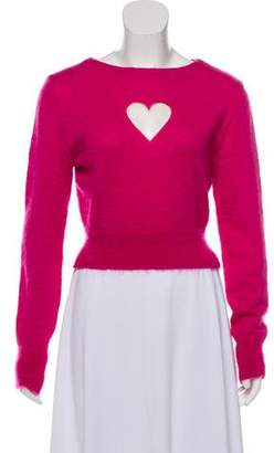Opening Ceremony Mohair Blend Knitted Sweater