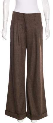 Magaschoni Wool-Blend Wide-Leg Pants