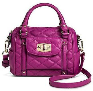 Merona; Women's Mini Quilted Crossbody Faux Leather Handbag - Merona; $34.99 thestylecure.com