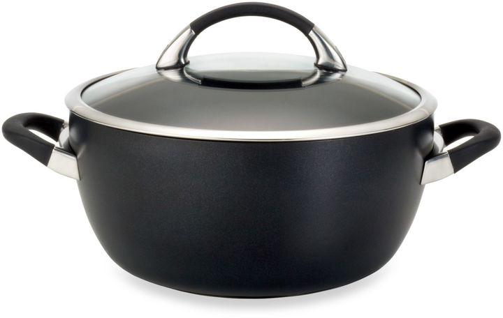 CirculonCirculon® Symmetry Black 5.5-Quart Covered Casserole