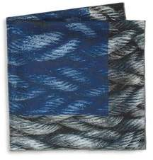 hook + ALBERT Mystic Rope Sling Silk Pocket Square