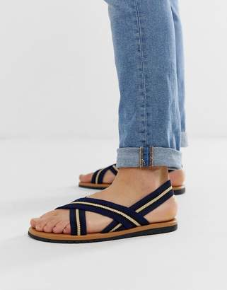 9ce84f283 Asos Design DESIGN sandals with elastic tape straps