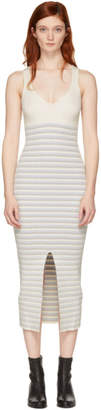 Opening Ceremony White Striped Maxi Dress