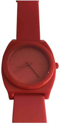 Nixon Red Plastic Watches