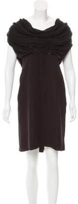 Armani Collezioni Sleeveless Embellished Dress