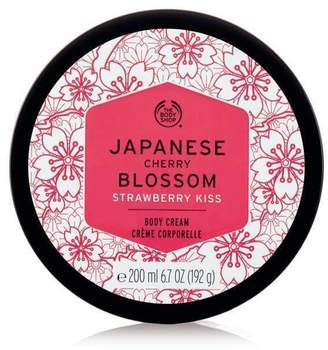 The Body Shop Japanese Cherry Blossom Strawberry Kiss Body Cream
