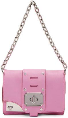 Versace Pink Mini Stardust Satchel $1,495 thestylecure.com