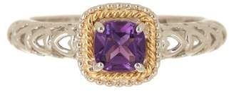 Phillip Gavriel 18K Yellow Gold & Sterling Silver Purple Amethyst Ring