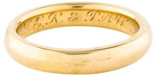 Tiffany & Co. 18K Wedding Band