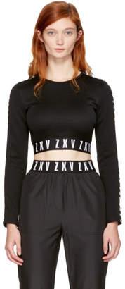 Versus Black Zayn Edition Cropped T-Shirt