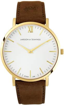 Larsson & Jennings LJ-W-LBRN-L-GW Lugano 40mm Watch