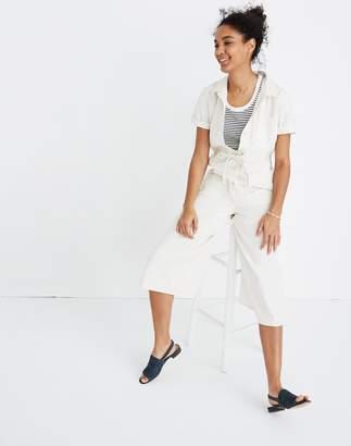 Madewell Wide-Leg Utility Jumpsuit