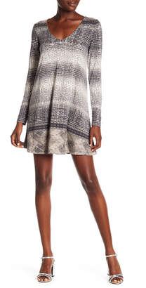 Tart Suzi Patterned Long Sleeve Dress