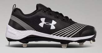 Under Armour Womens UA Glyde Metal Softball Cleats