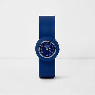 River Island Boys blue pop watch