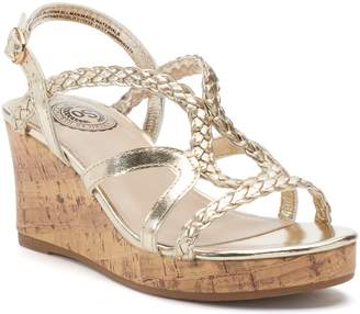 So SO Lion Tamer Girls' Wedge Sandals