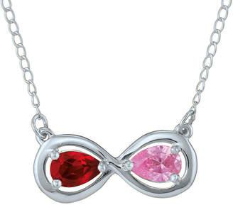 JCPenney FINE JEWELRY Personalized Infinity Symbol Birthstone Necklace