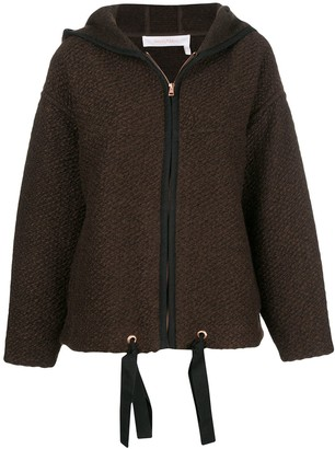 See by Chloe hooded boxy jacket