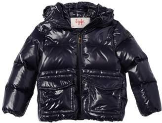 Il Gufo Hooded Nylon Laqué Down Jacket
