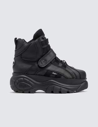 Buffalo London Buffalo Classic Black High-top Platform Sneakers