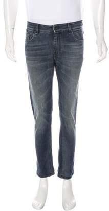 Fendi Monster Patch Skinny Jeans