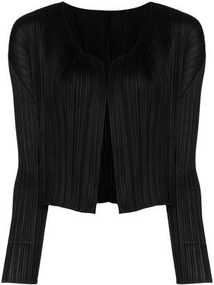 Pleats Please Issey Miyake pleated jacket