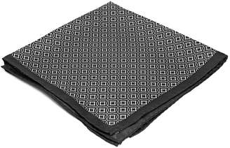 Ryan Seacrest Distinction Pacific Geo Pocket Square