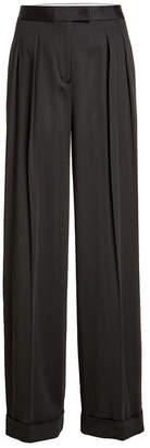 DKNY High-Waist Pants with Wool