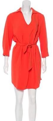 Trina Turk Long Sleeve Knee-Length Dress