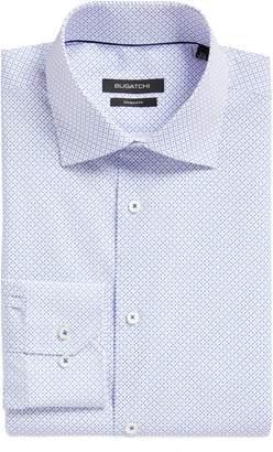Bugatchi Trim Fit Dot Dress Shirt
