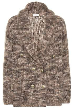 Brunello Cucinelli Mohair and silk cardigan