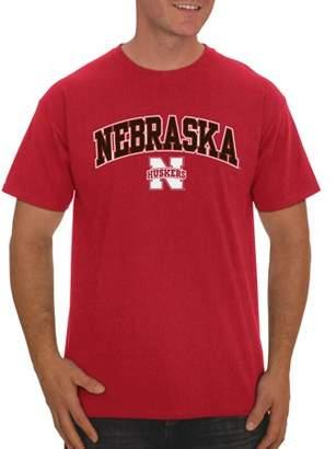 NCAA Russell Nebraska Cornhuskers, Men's Classic Cotton T-Shirt