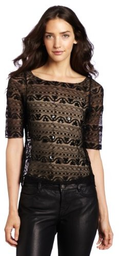 Sanctuary Clothing Women's Mona Lace A Tee