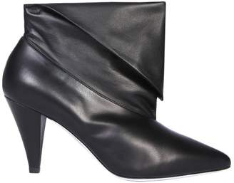 Givenchy 80 Foldover Ankle Boots