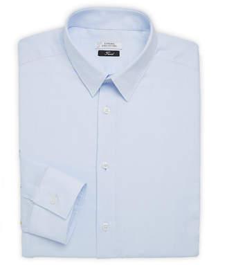 Versace Textured Solid Dress Shirt