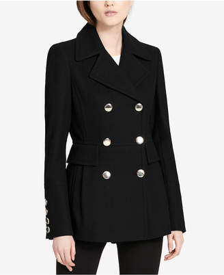 Calvin Klein Double-Breasted Peacoat