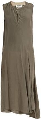 Acne Studios Deala checked dress