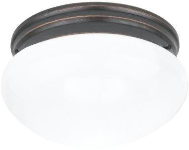 Webster Sea Gull Lighting 2-Light Copper Revival Ceiling Fixture