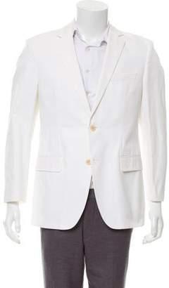 HUGO BOSS Boss by Notched-Lapel Two-Button Blazer