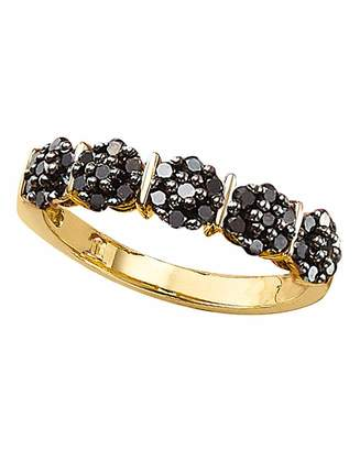 Fashion World 9 Carat Diamond 1ct Half Eternity Ring