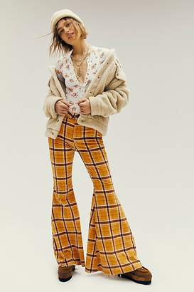Free People Just Float On Printed Cord Flares