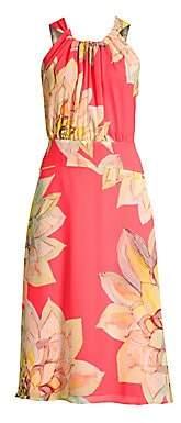 Trina Turk Women's Summery Floral Midi Dress