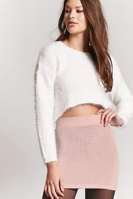 Forever 21 Metallic Mini Skirt
